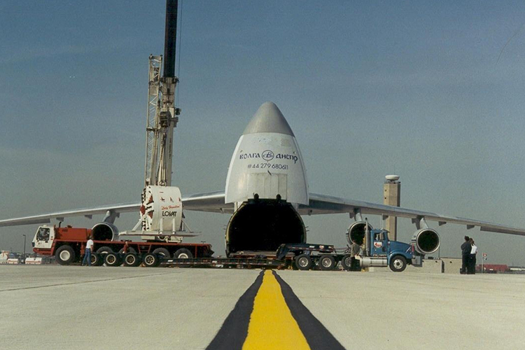 Shipment of TBM by airfreight from Toronto to England