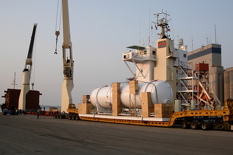 Pressure Vessel Sorel to Lybia