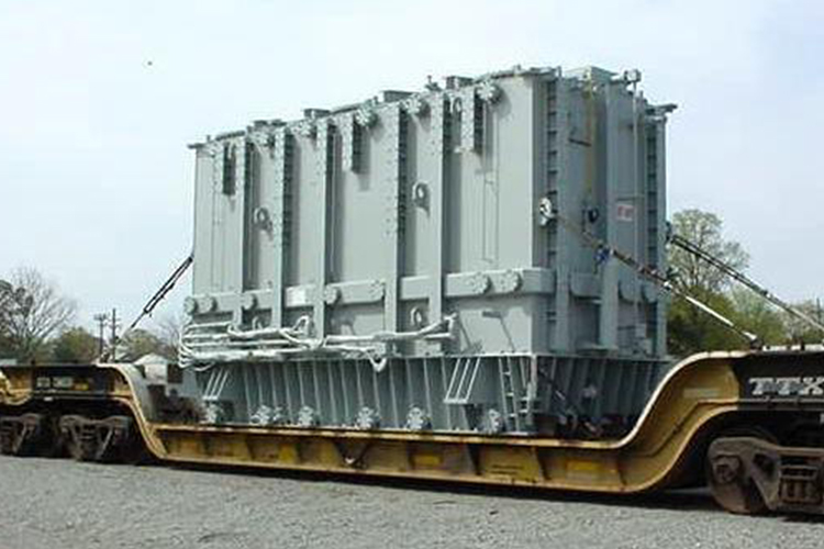 Transformer Move Jacksonville to Atlanta by rail
